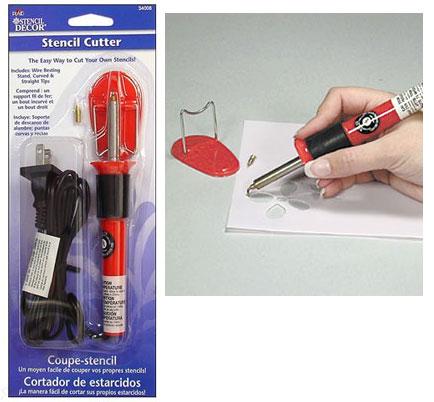 Hot cutter : Stencil film heat cutter