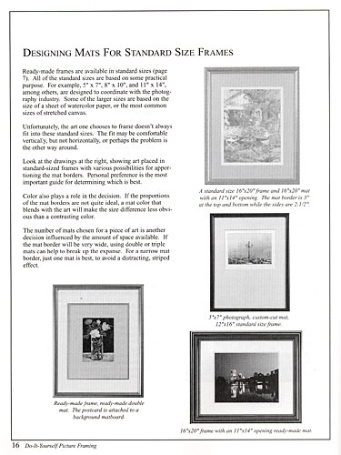 BOOK Do-It-Yourself Picture Framing (English)