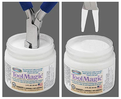 Tool magic 2 oz / bottle. ゴム・コーティング剤