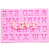 Mold for Sugar craft candy and chocolate Alphabet & Number Letters / 1 pc