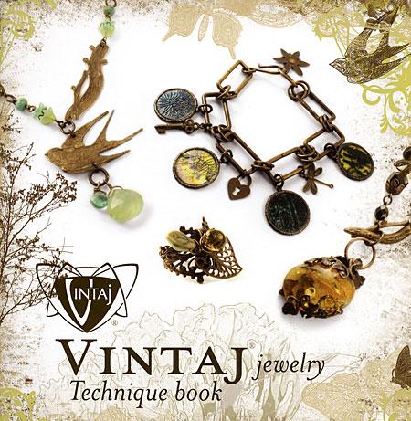 book vintaj jewelry technique book english