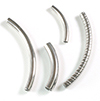 Stainless steel spacer Tube curved / 1pc
