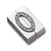Metal magnet clasp / 1set
