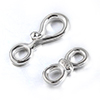 Silver 925 S and 8 shape clasps / 1pc