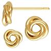 K14 (GF) Gold filled Love Knot Pierce / 1pc