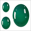 Agate (Green) Cabochon Oval /1pc