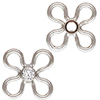Silver 925 Component Flower / 1pc