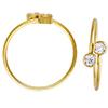 K14 (GF) gold filled Adjustable Ring /1pc