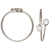 Silver 925 Adjustable Ring /1pc