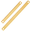 K14 (GF) Gold filled Flat Rectangle Link / 1pc