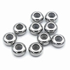 Stainless steel spacer rondelle /10pcs