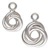 Silver925 Love Knot Charm / 1pc