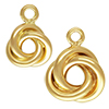 K14 (GF) Gold filled Love Knot Charm / 1pc