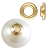 K14 (GF) Gold filled hole cover : Grommet Eyelet /10pc