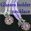 Glasses holder necklace /1pc