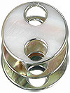 Shell component Link double eyes 40mm / 1pc