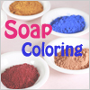Soap clay color natural powder/ 2g
