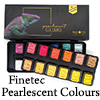 Finetec pearlescent colours / 1set