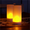 Rechargeable LED candle / 1 set (6 pcs)