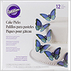 Butterfly Cake Picks / 1set(12pc)