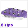 Wilton Starter Decorating Tip Set 8 tips / 1 set
