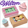 Wilton Cup Cake Box /1set