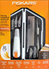 Fiskars Tool Carving Chiseling & Sawing Set Heavy Duty / 1 set