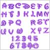 Disney style font Alphabet Cookie Cutter / 1set(36pcs)