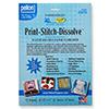Pellon : Print-Stitch-Dissolve White /1set