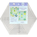 June Tailor : You Hexie Thing Hexagon Ruler /1set