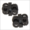 Shoe string stopper clip (lock lace) /1pair