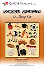 Quilling Kit : #414 School Spirit / 1set