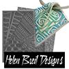 Helen Breil Texture Stamp /1pc