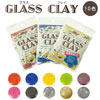 Transparent resin Glass Clay / 1set