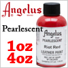 Angelus Acrylic Leather Paint Pearlescent 4 oz /1pc