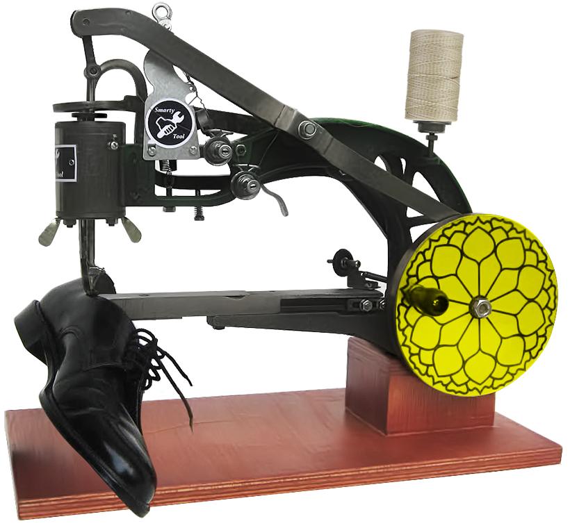 Mesin Jahit Make Up 360 Untuk Reparasi Kulit Tas Dan Sepatu