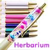 Herbarium ballpoint pen /1pc