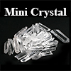 Natural Crystal Clusters and Points (china) / 1pkg (50g)
