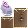 Necklace card Punch /1pc