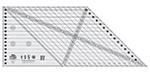 Creative Grids: 45 Degree Diamond Dimensions Quilt Ruler /1pc