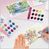 Kuretake Watercolor Palette 12 Colors set/ 1 pc