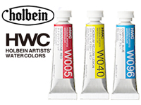 Holbein Artist Watercolor (single color tube) / 1 pack (6 tubes)