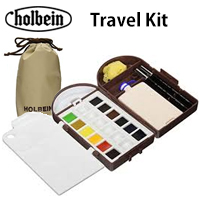 Watercolor : Holbein Watercolor Travel Kit / 1 set