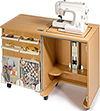 Smarty Organizer : Sewing Cabinet with lift up table