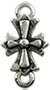 Stainless Steel Link Cross/ 1 pc
