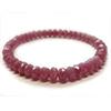 Ruby button cut bracelet /1pc