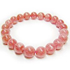 Incarose Rhodochrosite round bracelet ( Argentina )/1pc