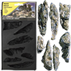 Woodland scenic : Rock Mold / 1pc