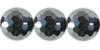 Terrahertz Hematite round cut 8mm /40cm