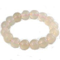 Chalcedony ( Pink )bracelet round 14mm /1pc